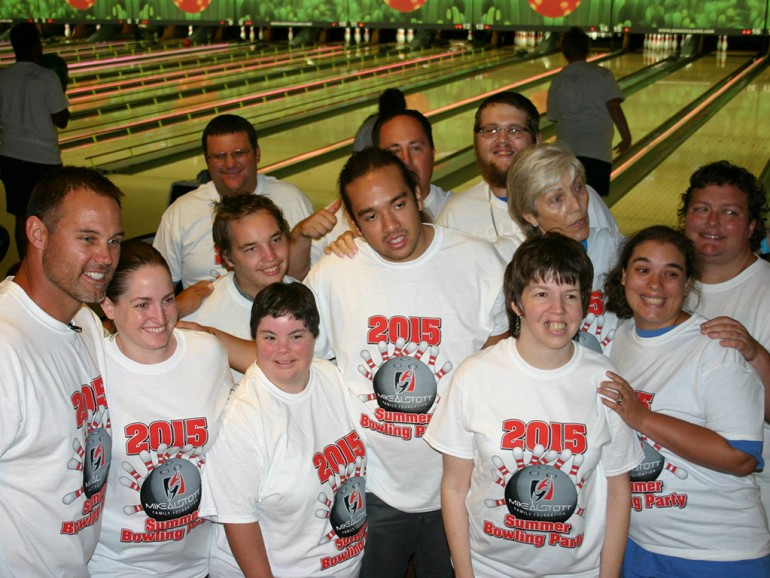 Summer Bowling Party 2015