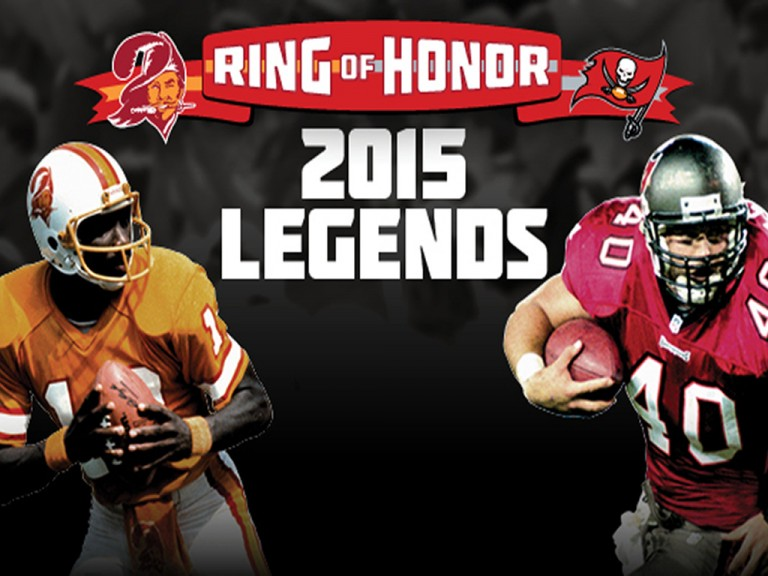Alstott, Williams Selected for Ring of Honor