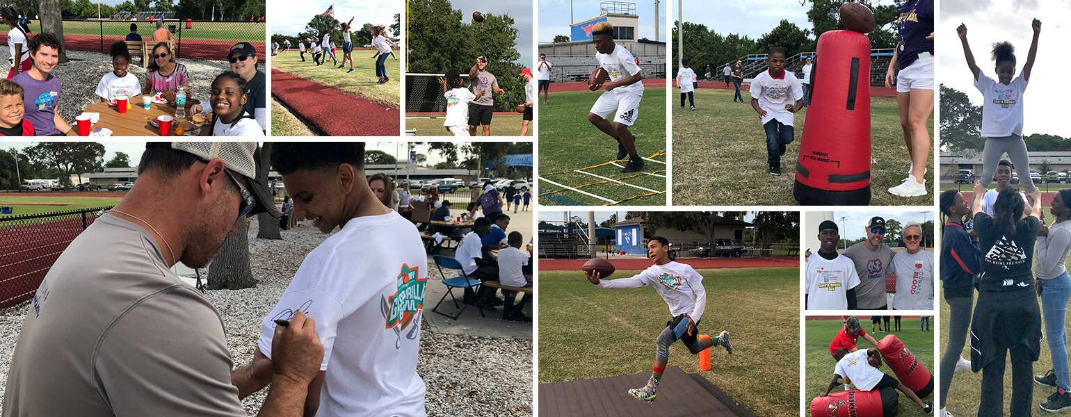 11th Annual Sports Buddies Day Photo Collage