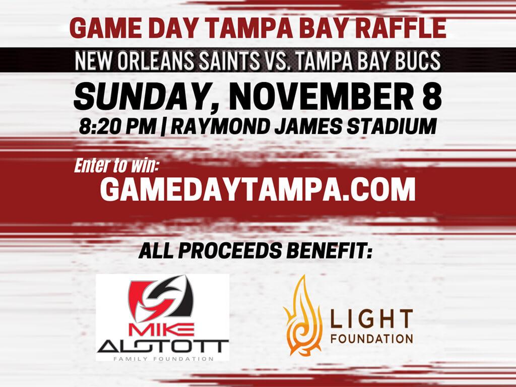 Game Day Tampa Bay Raffle