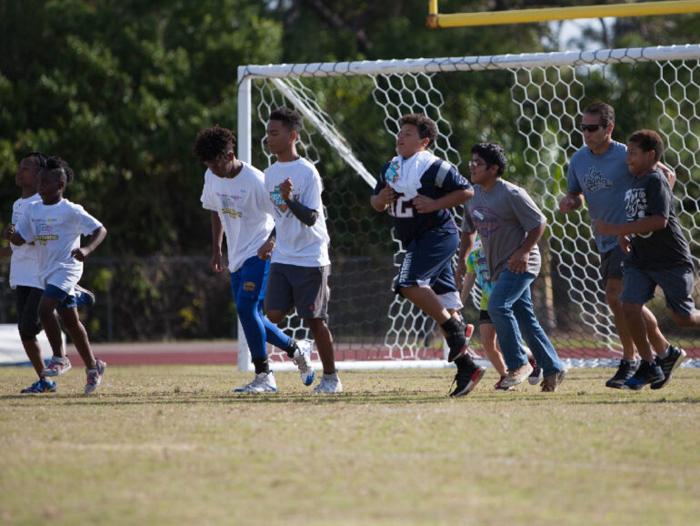 MAFF Sports Buddies Day For Big Brothers & Sisters Of Tampa Bay