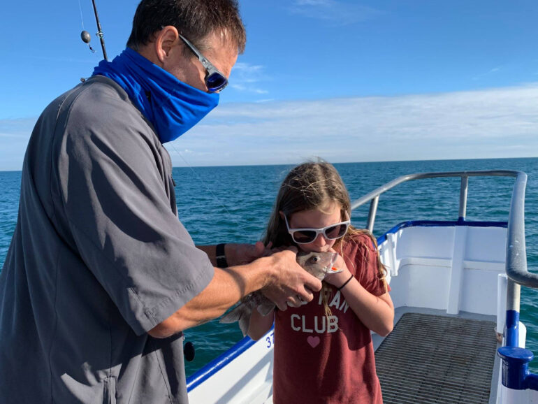 Children's Deep Sea Fishing Trip With A Reel Future