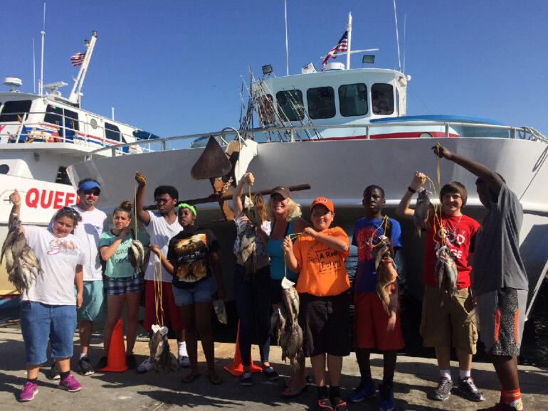 A Reel Future 500 Foster Kids Summer Fishing Trip