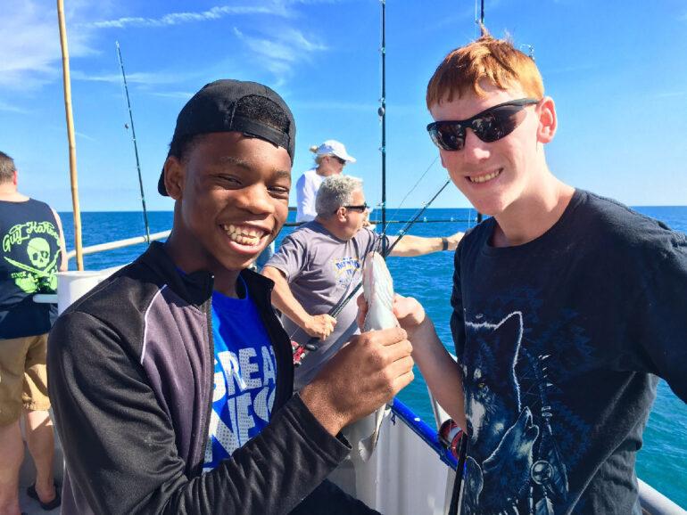 Reel Future Children's Fishing Trip 2019