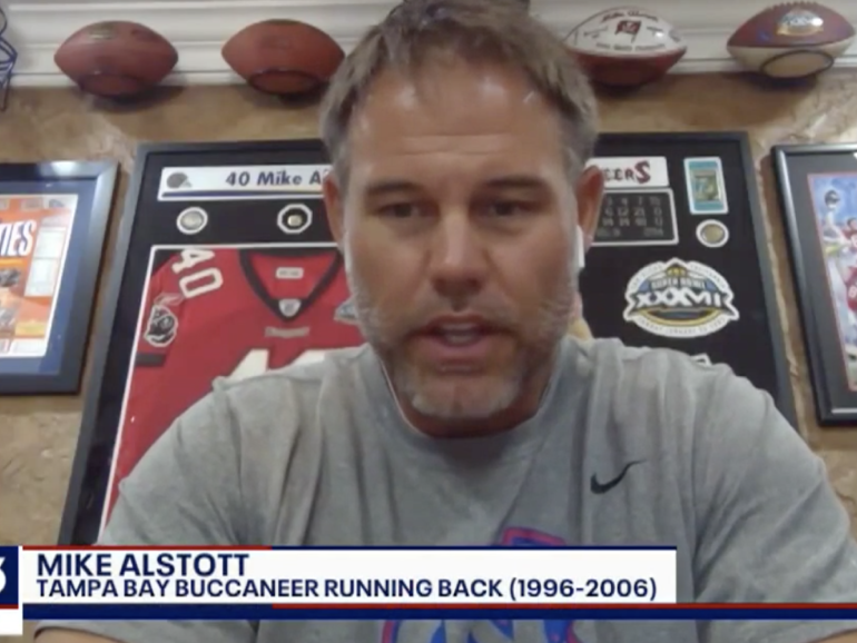 Mike Alstott Featured On Fox 13 Discusses COVID-19 and Life Without Football