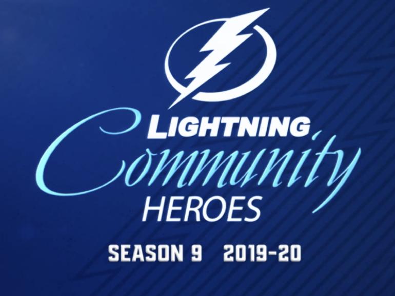 Tampa Bay Lightning Community Hero 2019-2020