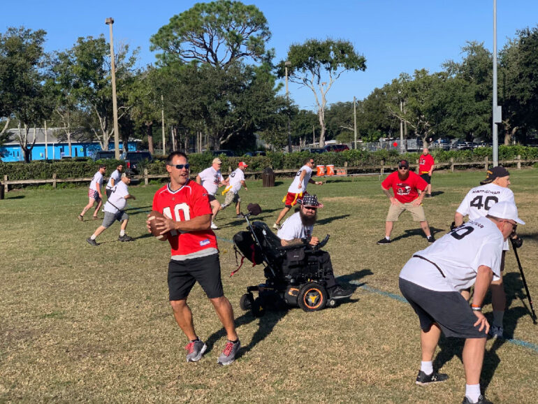MAFF & Wounded Warriors Flag Football Game